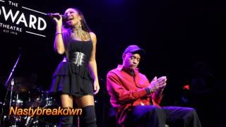 Chante Moore - Baby Can I Touch Your Body (Howard Theatre 1-2-15)