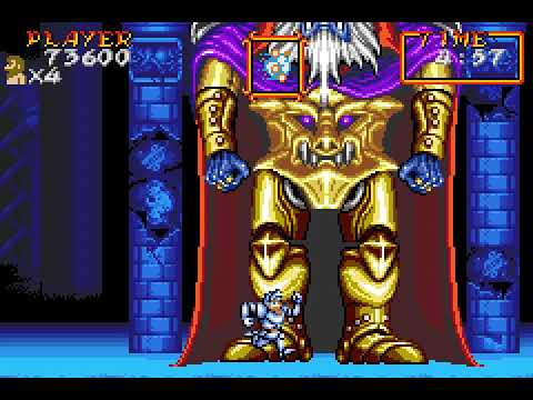 [TAS] GBA Super Ghouls'n Ghosts