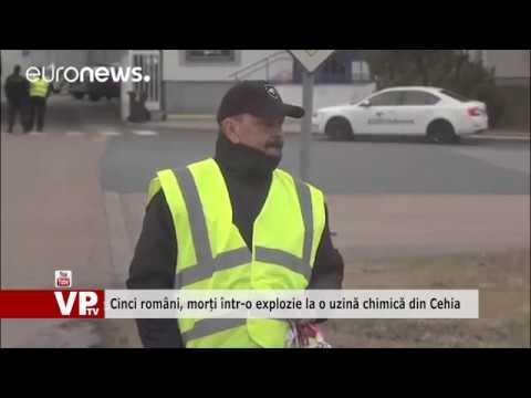 Cinci români, morți într-o explozie la o uzină chimică din Cehia