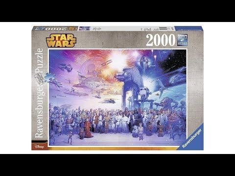 Time Lapse Puzzle - Star Wars Universum - Ravensburger 2000 pieces