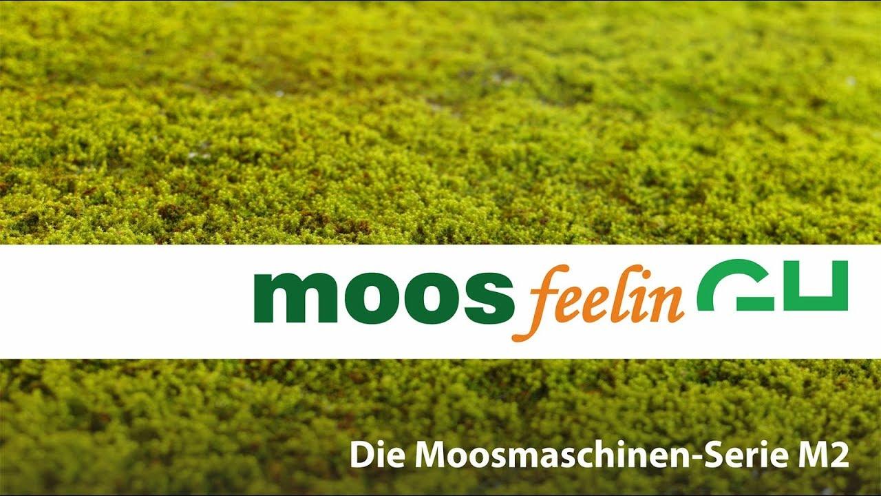 Die Moosmaschinen-Serie M2 - Wir bringen Moos in die vertikale Gebäudeebene