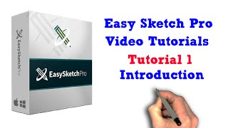 Easy Sketch Pro Training Tutorial 01 - Introduction