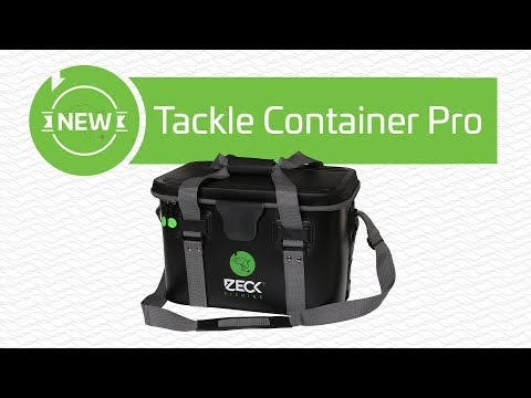 Robuste Tasche für Welsangler | Tackle Container Pro | www.zeck-fishing.com