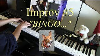 Improvised cover of the BINGO song in minor