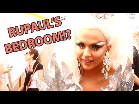 What Does RUPAUL'S BEDROOM look like? | Drag Race Season 9 Finale Red Carpet