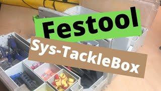 Festool Sys-Toolbox Tour #Festool #FestoolSysTacklebox #FestoolSystainers