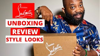 CHRISTIAN LOUBOUTIN SHOES UNBOXING/REVIEW Red Bottoms ON FEET AND STYLING LOOKS