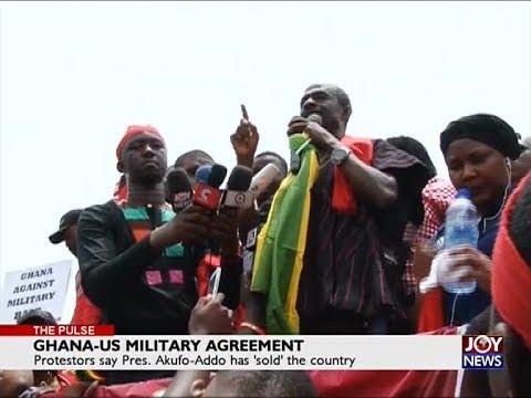 Ghana-US Military Agreement - The Pulse on JoyNews (28-3-18)