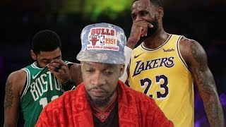 Lebron really isnt making playoffs… wow LAKERS vs CELTICS HIGHLIGHTS REACTION