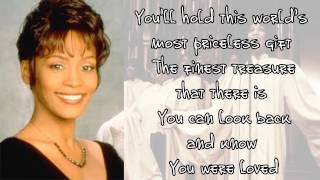 Whitney Houston - You Were Loved (Lyrics)