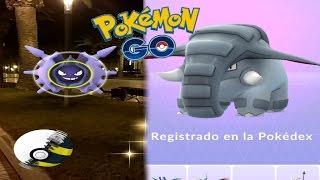 Donphan  - (Pokémon) - CAPTURAS ÉPICAS! MEGANIUM, DONPHAN Y MUCHOS MÁS!  [Pokémon GO-davidpetit]