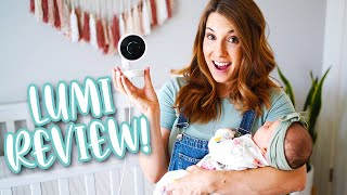 I've Found My FAVORITE Baby Monitor! – Lumi by Pampers Smart Baby Monitor and Sleep System Review!