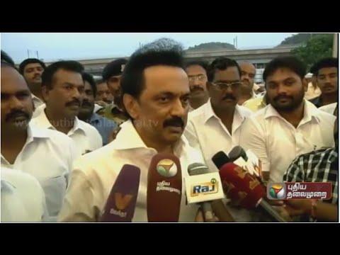 Stalin-Press-Meet-At-Chennai-Airport