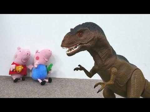 Spiel mit Peppa Wutz - Die Zeitmaschine Teil 1 - Spielzeugvideo für Kinder