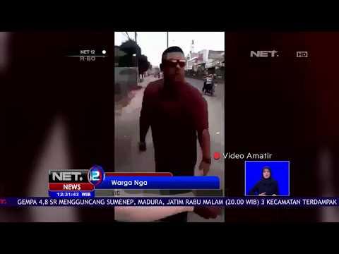 Seorang Warga Ngamuk Ke Jasa Penukaran Uang -NET12