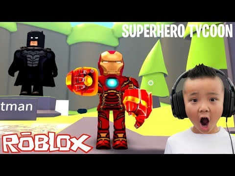 Download The Best Superhero Tycoon Roblox Game With Ckn Gaming