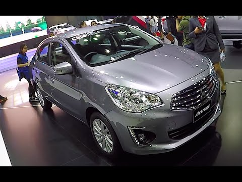 New Mitsubishi Attrage 2016, interior and exterior