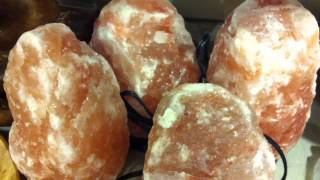 Himalayan Salt Lamps at Home Goods