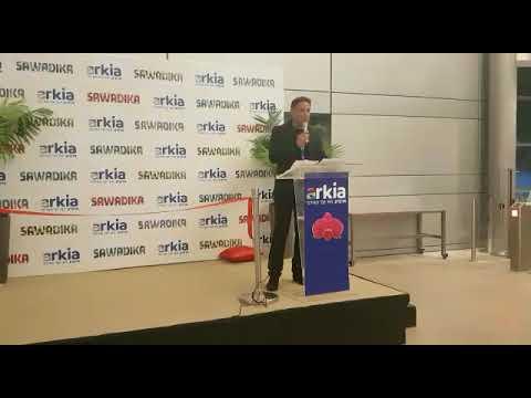דני רופ מנחה את אירוע השקת קו הטיסות  הישיר לבנגקוק