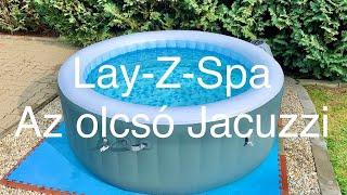 Lay-Z-Spa Baja - A Legolcsóbb Jacuzzi ? Mikor éri Meg Megvenni ? Plusz: Zajszint Mérés (4K)
