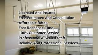 Garage Door Installation Company Spring TX