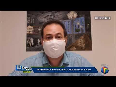 Lockdown não será prorrogado em Pernambuco, mas uso obrigatório de máscara permanece