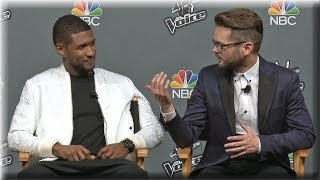 Pt. 2 Usher and Josh Kaufman React to Beating the Bookends | The Voice Season 6 Finale