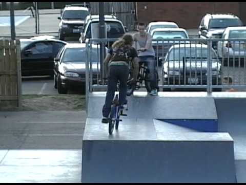 James Gardner - BMX - O`Neil Skatepark !