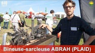 Bineuse-sarcleuse ABRAH de Dulks – Binage rapproché de jeunes plants délicats