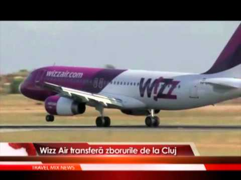 Wizz Air transfera zborurile de la Cluj
