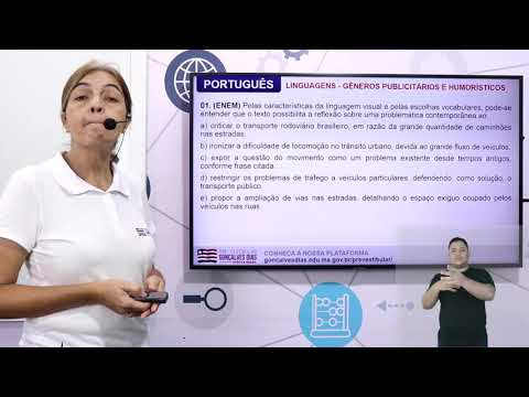 Aula 06 | Análise de textos publicitários e humorísticos - Parte 0 de 03 - Exercícios - Português