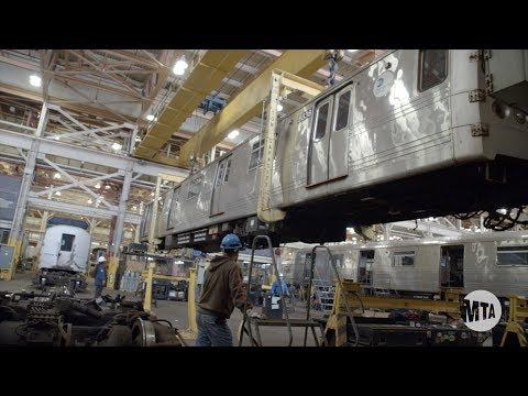 Subway Action Plan: Inside Subway Car Overhaul Shops