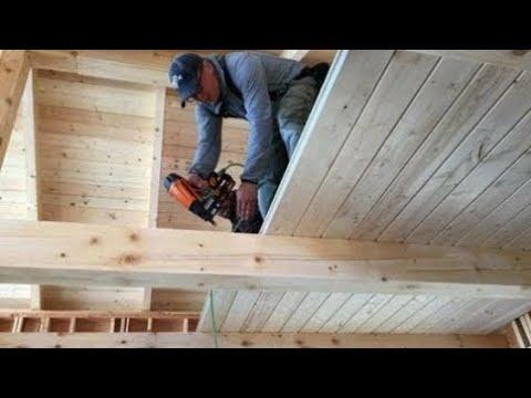 Soppalco in legno Fai da te - wooden mezzanine DIY