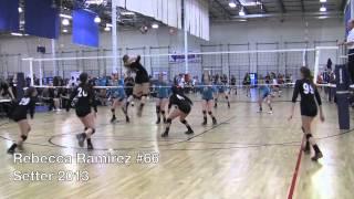 Rebecca Ramirez 2013 Volleyball - Setter recruit