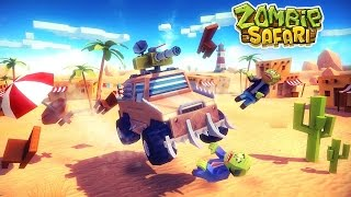 ZOMBIE OFFROAD SAFARI Android / iOS Tank Gameplay Video
