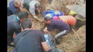 Tragedia En Ibagué: Niño De 6 Años Muere Luego De Que Deslizamiento Sepultara Su Vivienda