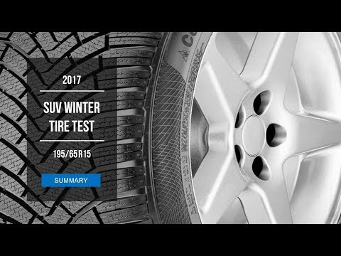 2017 Winter Tire Test Results   195/65 R15