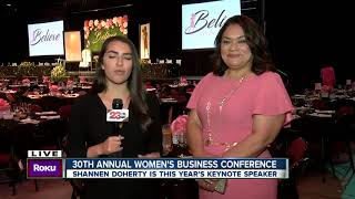 23 ABC News | Shannen Doherty speaks at Bakersfield Womens Conference