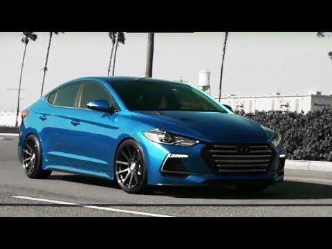 Modified Hyundai Elantra Sport 2017 | Showcase
