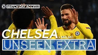 #CHELSEA BEAT MALMO IN EUROPA LEAGUE! | UNSEEN EXTRA