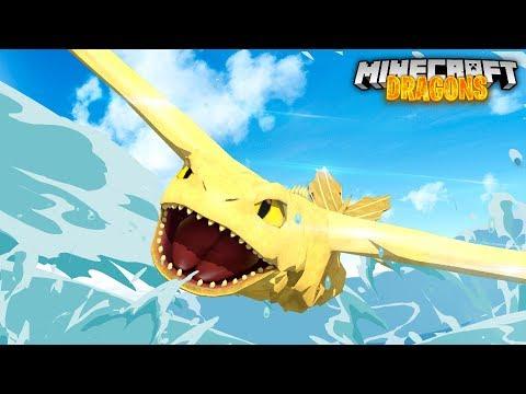 WE FOUND THE GOLDEN NIGHTFURY! - Minecraft Dragons
