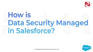 Know Why Salesforce Is Secure For Your Business Data
