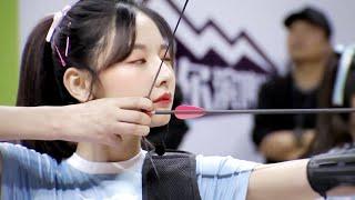 【射箭】【SNH48 趙粵】粵亮女神 勇奪第三【SNH48第二屆偶像運動會 20190413】
