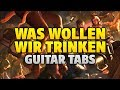 Bots - Was Wollen Wir Trinken and Scooter - How Much is the Fish [fingerstyle guitar]