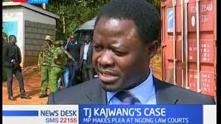 Ruaraka MP TJ Kajwang' pleads 'Not Guilty' at the Ngong Law Courts