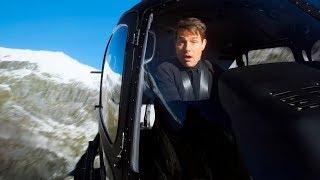 Как снимали трюки c вертолётом фильма Миссия невыполнима 6: Последствия