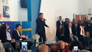 "Primarie PD, Matteo Renzi a Bari: ""Vincere qui è stato sorprendente"" - VIDEO"