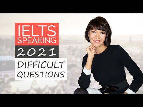 Toughest IELTS Speaking Questions 2021 - YouTube