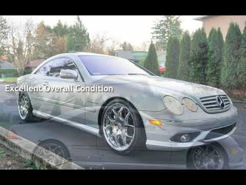 """2004 Mercedes-Benz CL 55 AMG 495 HP 2 Owner 20"""" Wheels for sale in Milwaukie, OR"""