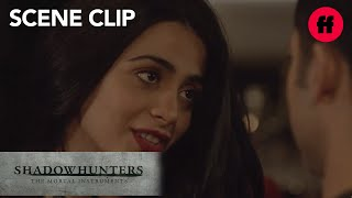 Shadowhunters | Season 2, Episode 10: Raphael Admits His Feelings To Izzy | Freeform
